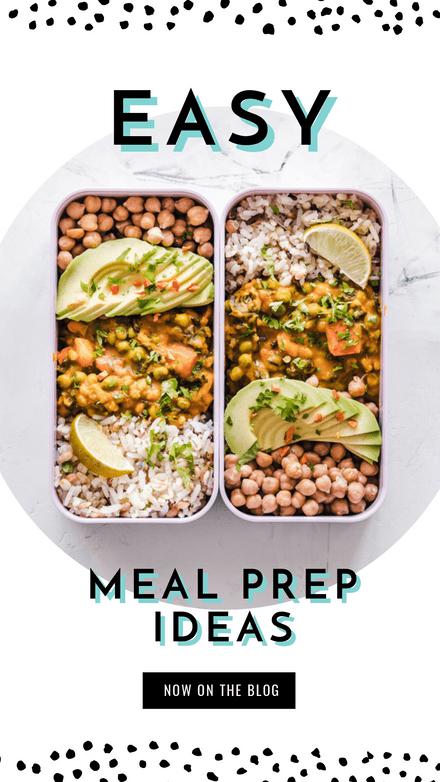 Easy Meal Prep Ideas Spotty Template