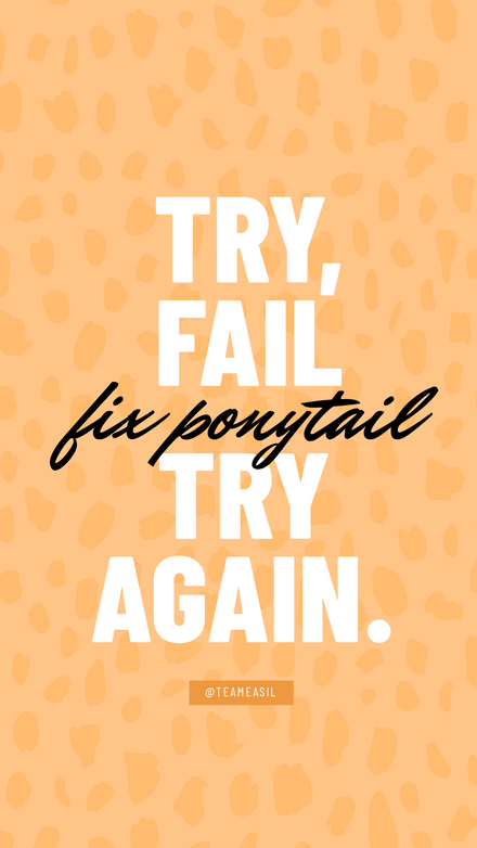 Quote: Try, Try Again