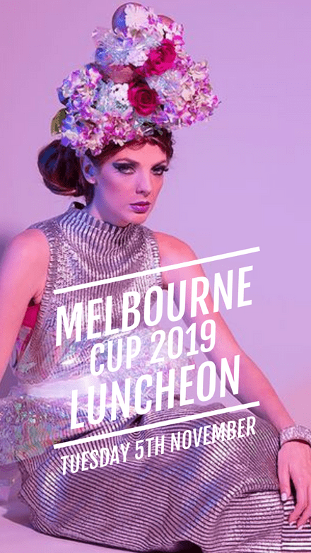 Fashion forward Melbourne Cup Luncheon