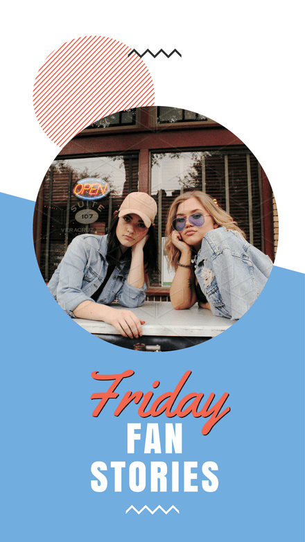 Friday Fans Instagram Stories Template
