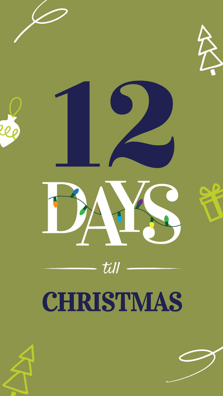 Christmas Daily Countdown Template