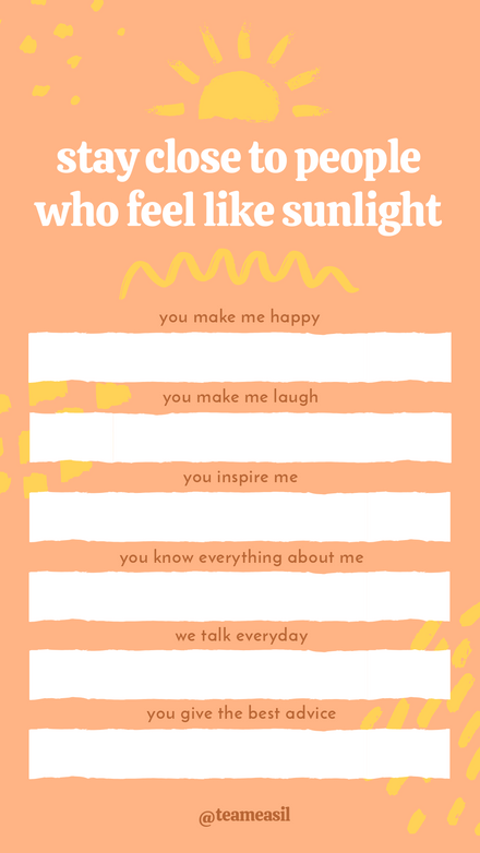 Sunlight People Challenge