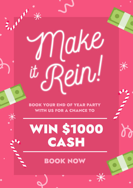 Make it Rein Christmas Cash Competition