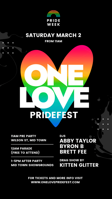 One Love Pride Festival