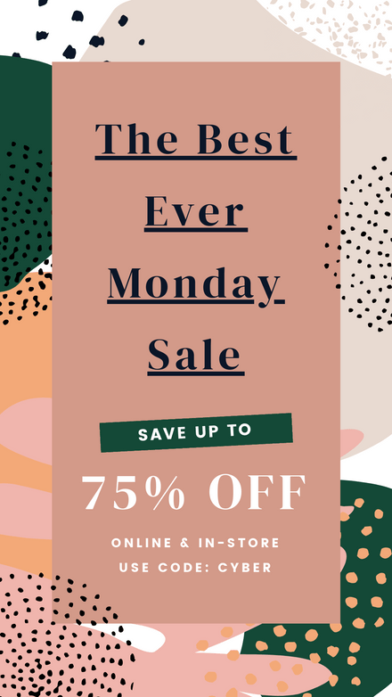 Best Ever Monday Sale Graphic Template