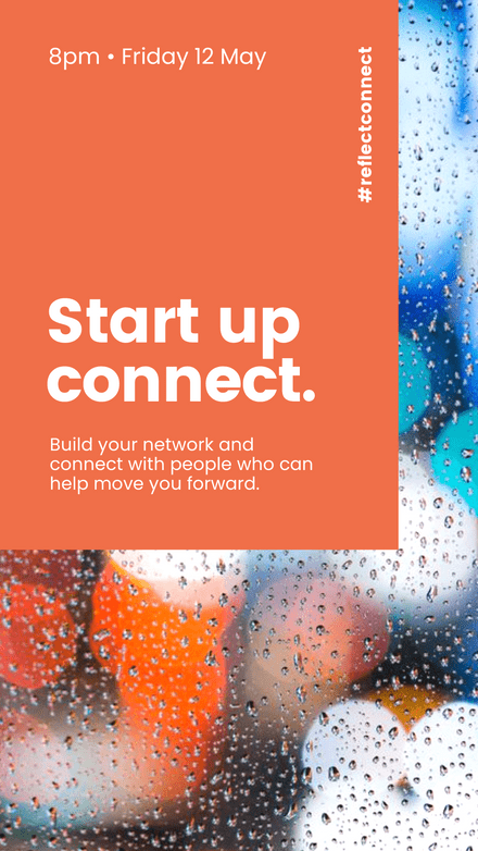 Start up Connect - Color Block Overlay