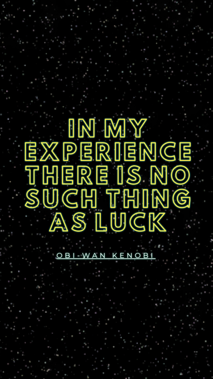 Star Wars Quote Instagram Graphic