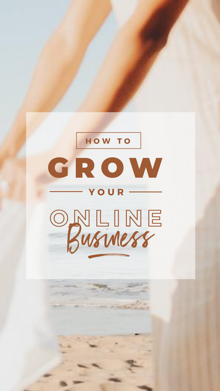 How to Grow your Online Business Full Image Reel Cover