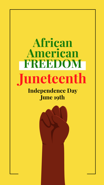 African American Freedom - Juneteenth