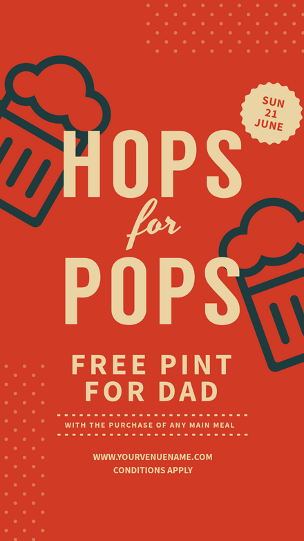 Hops for Pops Fathers Day Deal
