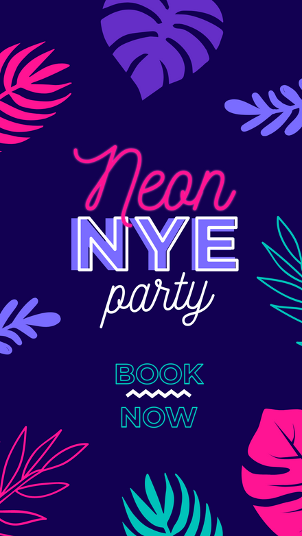 Neon NYE Party Book Now