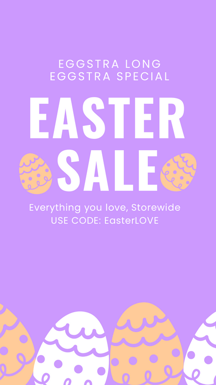 Eggstra Special Easter Sale Graphic Template
