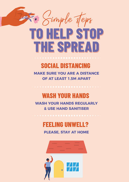 Simple Tips to Help Stop the Spread