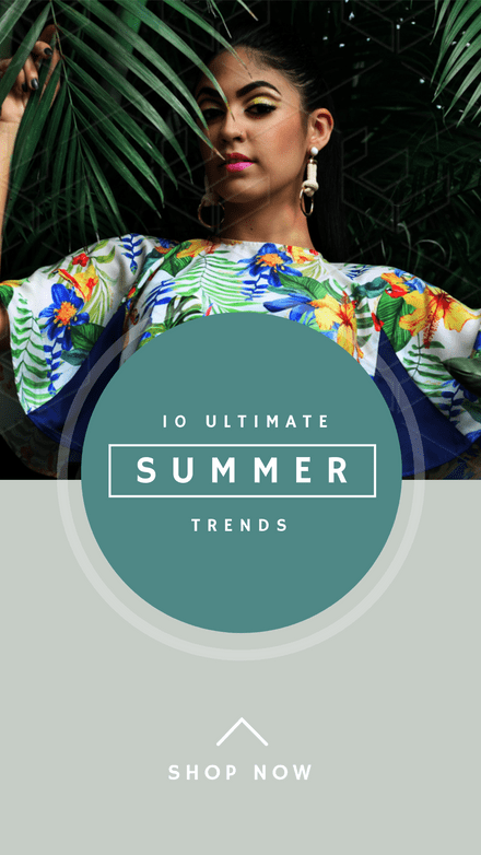 10 Ultimate Summer trends - Instagram Stories Template