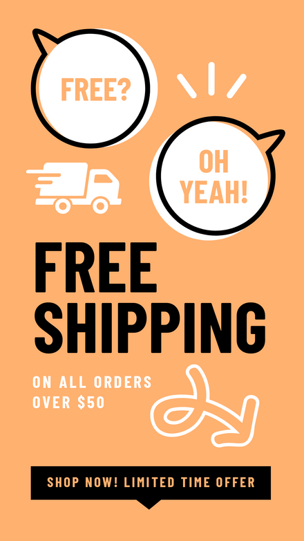 Free Delivery Offer: Speech Bubble