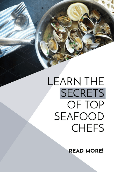Learn the secrets of top chefs Pinterest Graphic