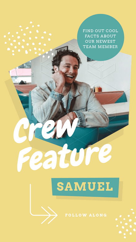 Crew Feature Multi Page Template Design