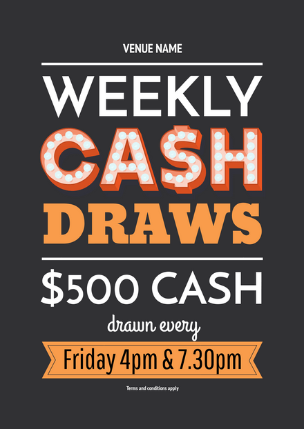Win Cash - Weekly Cash Draws