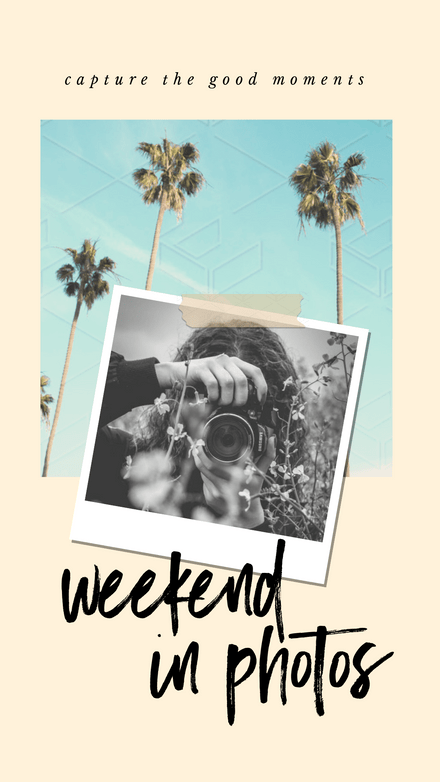 Collage: Simple Weekend Photos