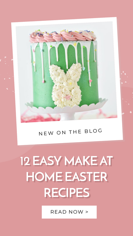 Easter Treats Recipe Blog Template