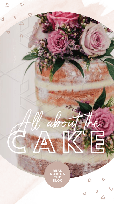 All about the Cake Template