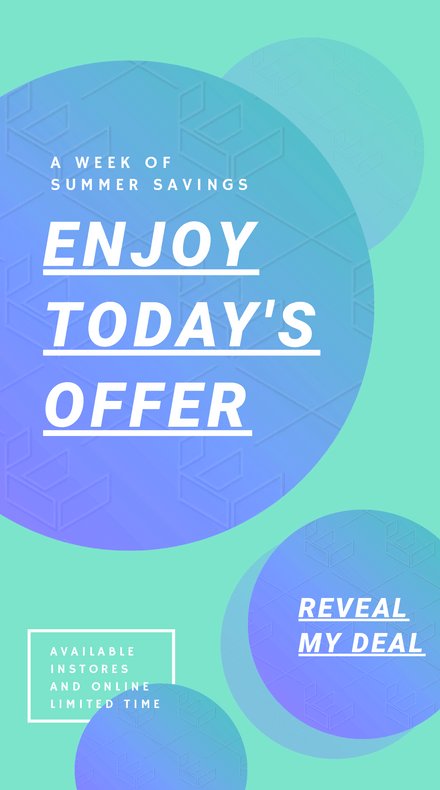 Enjoy Today's Offer Retail Instagram Story Template