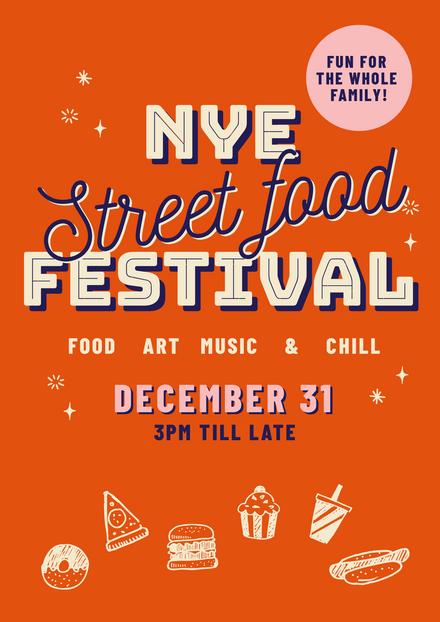 NYE Street Food Festival Template