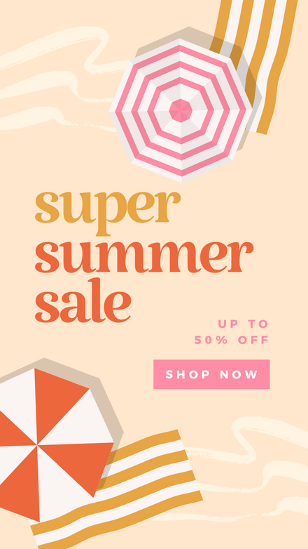 Summer Sale: Earthy Beach Vibes