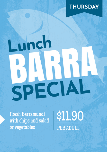Barra Lunch Special
