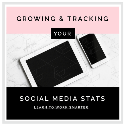 Growing & Tracking your Social Media Stats