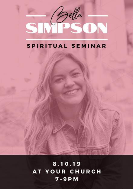 Spiritual Seminar Promotion