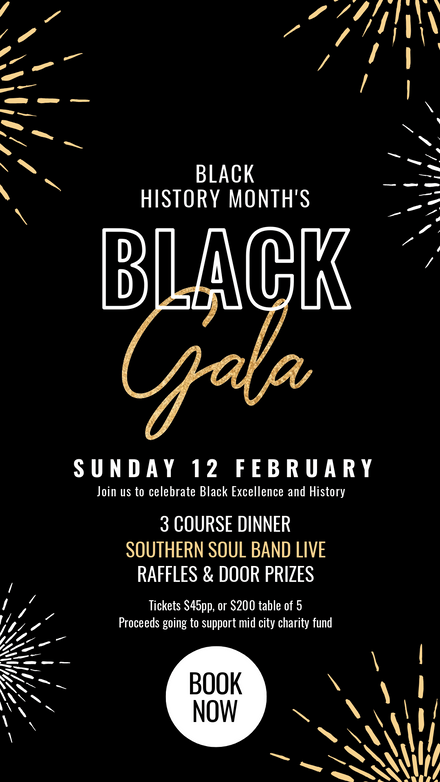 Black Gala - Black History Month Template