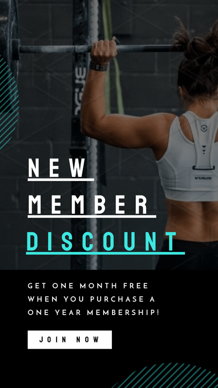 New Member Discount - Graphic Template