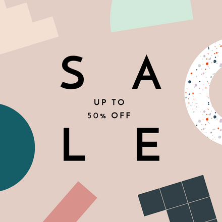 Up to 50% Off Sale Template