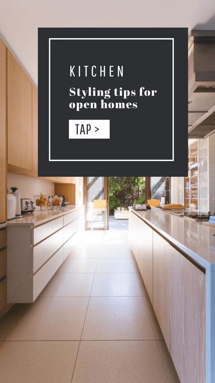 Kitchen Styling Tips for Open Homes