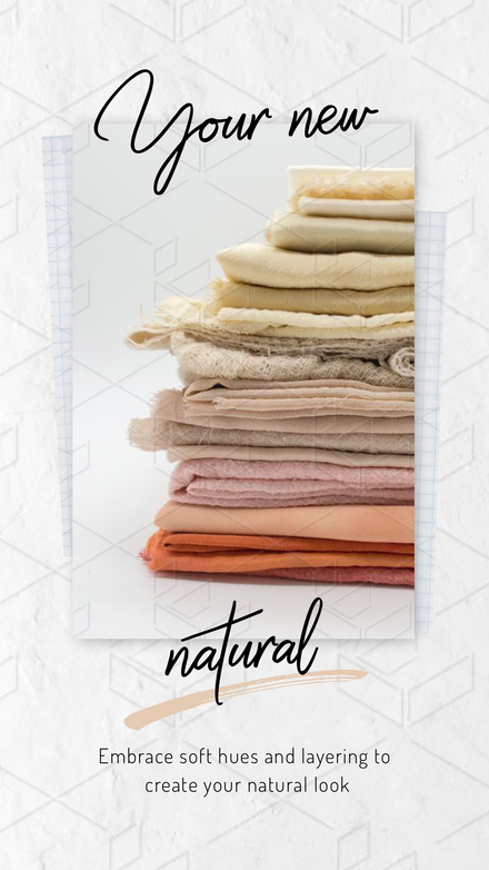 Your New Natural - Overlaid Image Box Template