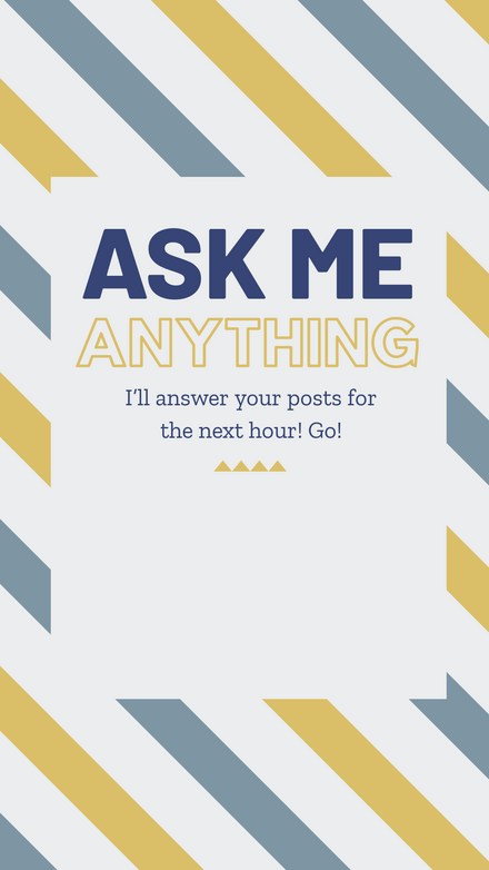 Ask me Anything - Question Template