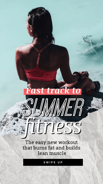 Fast Track to Summer Fitness - PT Graphic Template