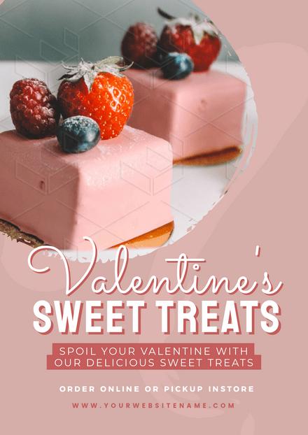 Valentine's Sweet Treats Template