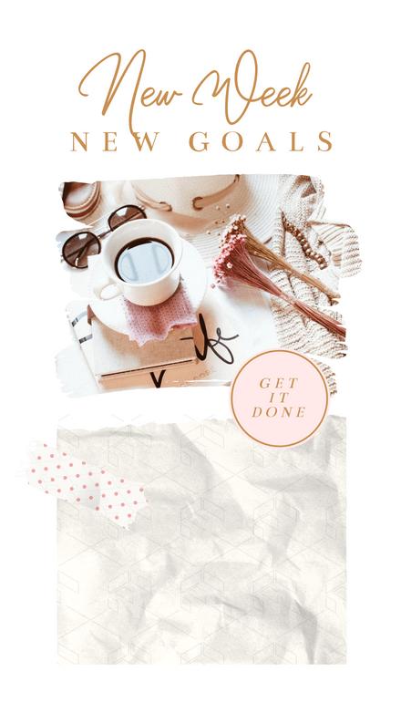Collage: Dreamy Goals List