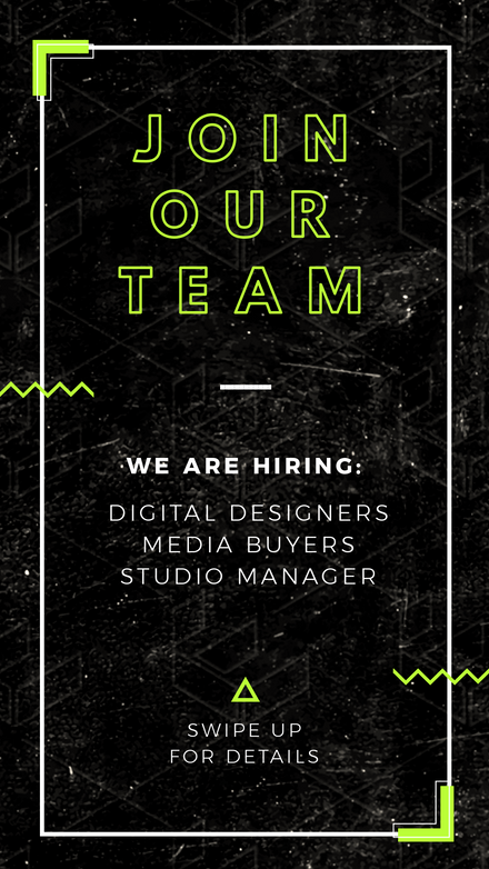 Neon Grunge - Join Our Team