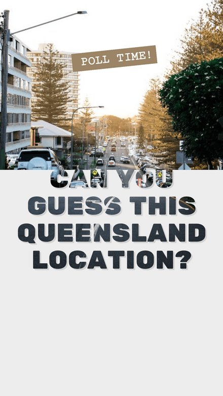 Guess the Location Poll Template with Text Mask