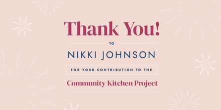 Thank you message Template - Pink