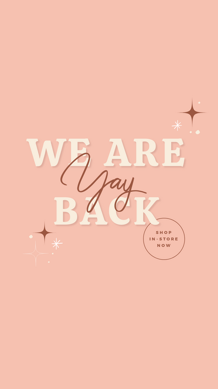 Yay We are Back Quote
