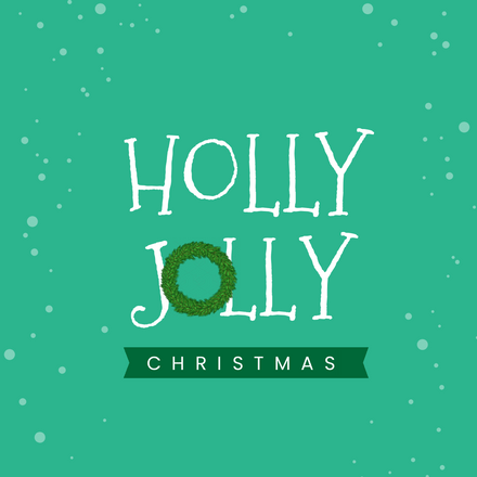 Holly Jolly Christmas Party Template