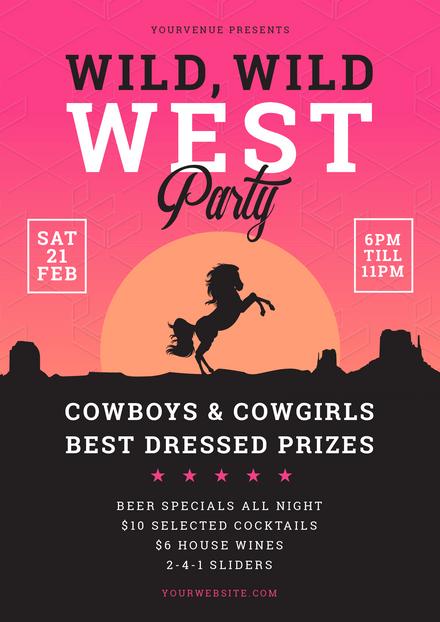 Wild, Wild West Party