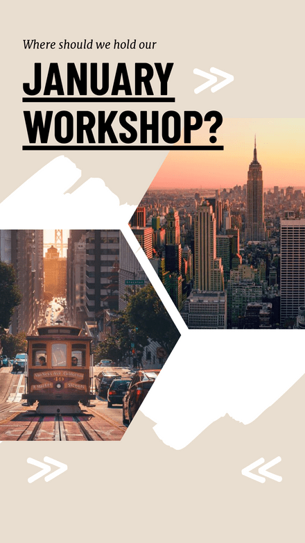 Where should we hold our Workshop Template