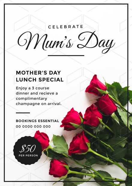 Celebrate Mum's Day