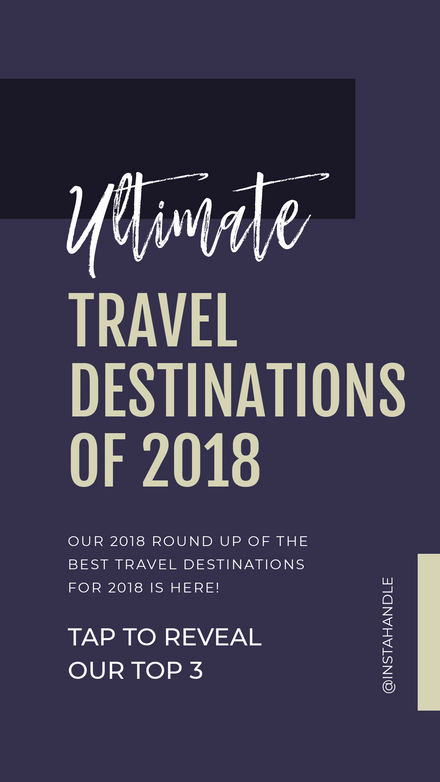 Tap to Reveal - Ultimate Travel Destinations Roundup