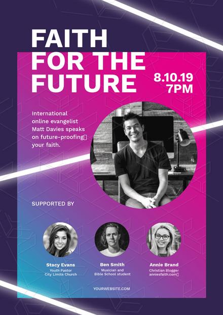 Faith for the Future - Church Event